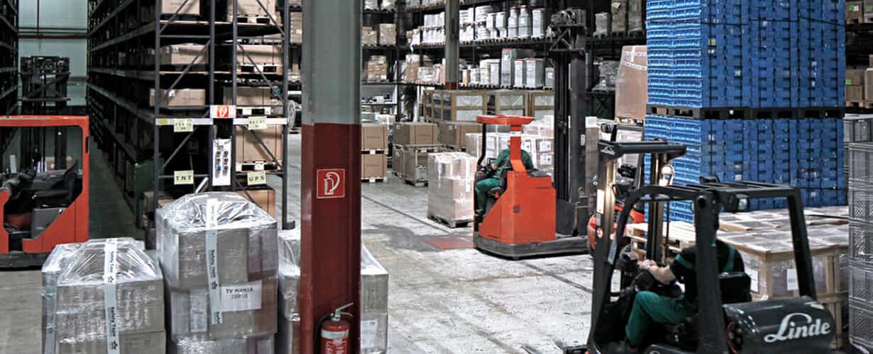 Lagerlogistik Dienstleister – Warehousing