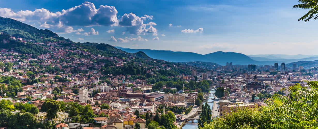 Export/Import von und nach Bosnien und Herzegowina